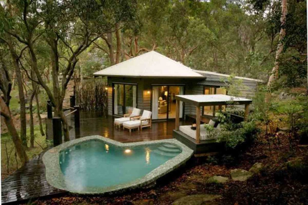 خانه رویایی خانه زیبا کلبه آرامش بخش کلبه جنگلی