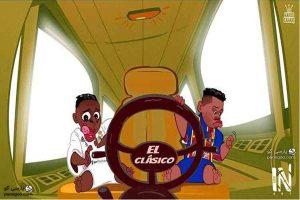 ال کلاسیکو بدون مسی و رونالدو