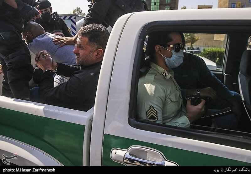 شکستن هیمنه پوشالی اراذل و اوباش تهرانپارس با چرخاندن آنها در میان مردم