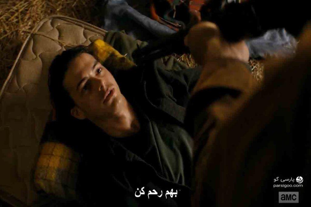 لحظه به قتل رساندن دوست کریس در سریال Fear the Walking Dead