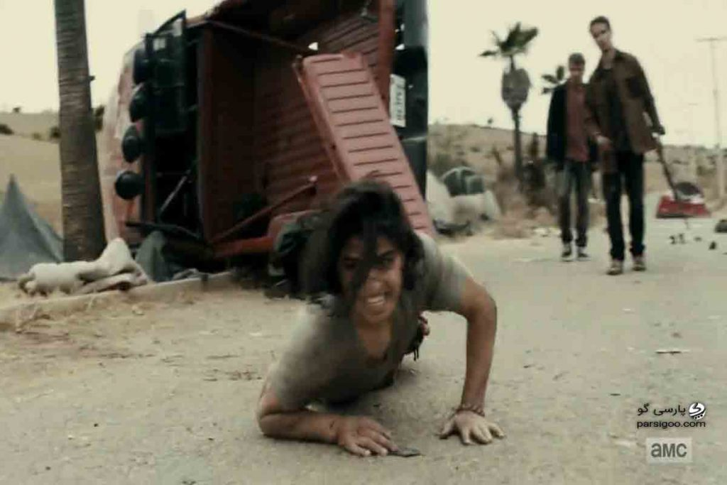 لحظه کشته شدن کریس در سریال Fear the Walking Dead