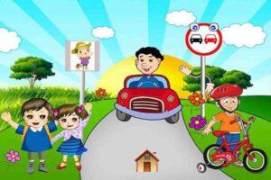 آموزش قوانین راهنمایی و رانندگی به کودکان