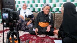 حاج احمد صوفی پیرترین مرد ایران