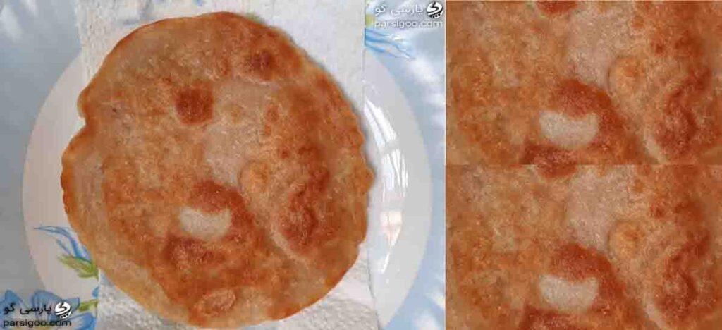 آموزش پخت ورنیومده یزدی