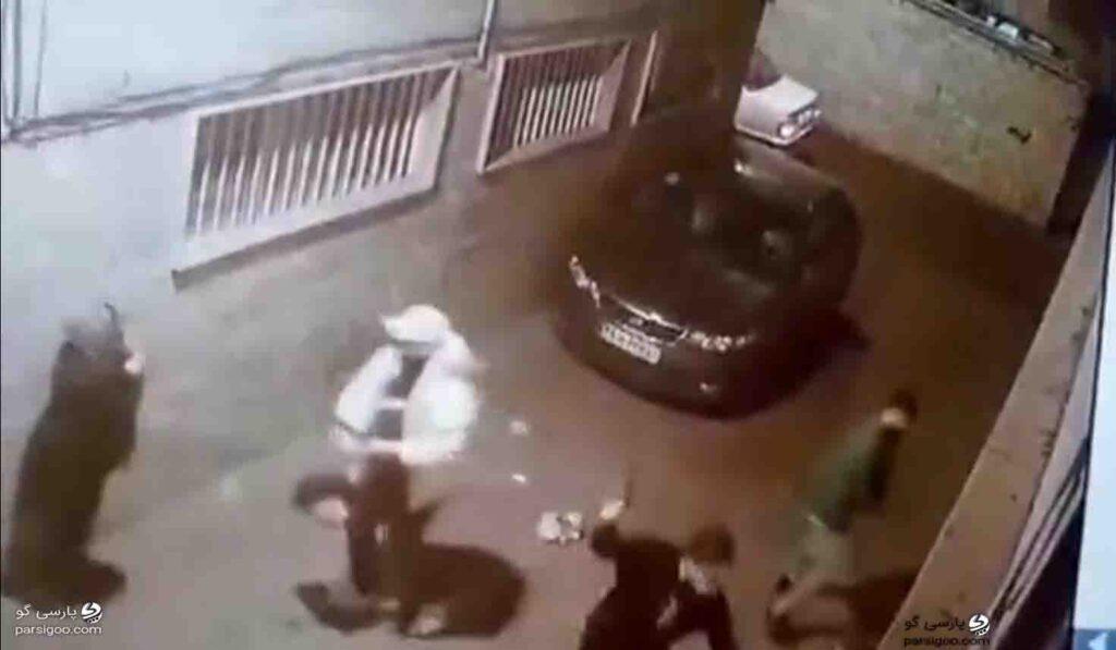 حمله سه زورگیر قمه به دست