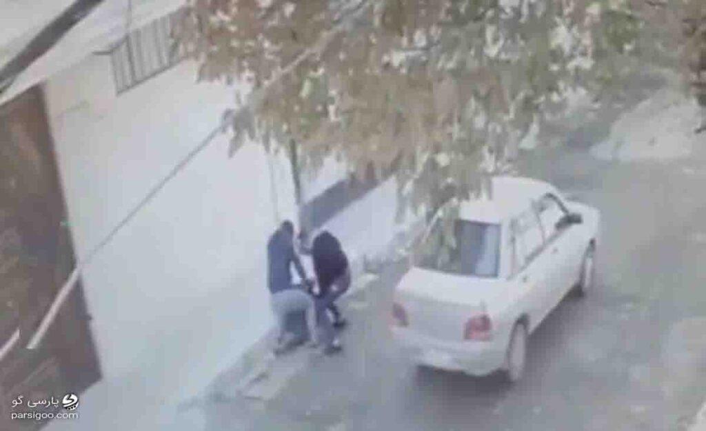 فیلم زورگیری دو شرور از یک زن تنها در کرمانشاه