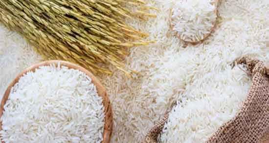 برنج سفید و فواید آن