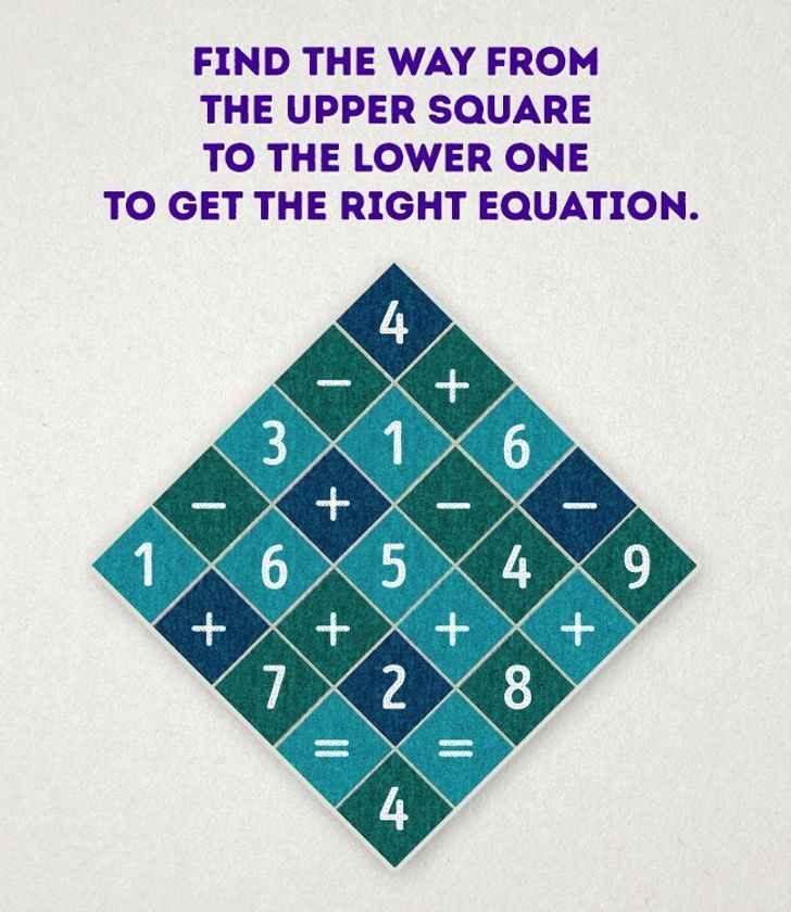 معمای جذاب مربع اعداد
