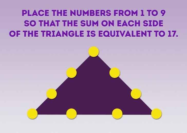 معمای مثلث اعداد