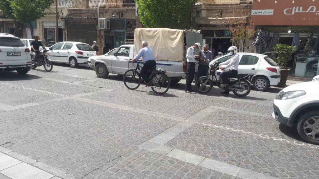 موتورسواران پلیس راهنمایی و رانندگی استان یزد