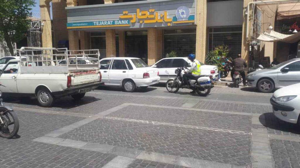موتورسواران پلیس راهور استان یزد