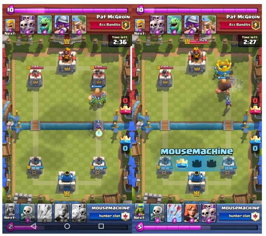 دو استراتژی Clash Royale حمله از ابتدا یا بازی تدافعی