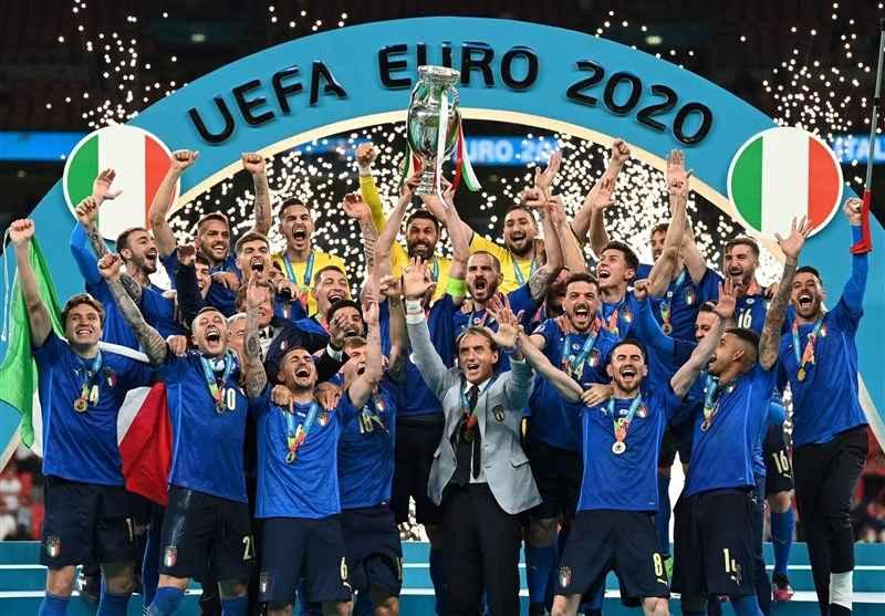 ایتالیا قهرمان یورو تیم ملی ایتالیا یورو 2020