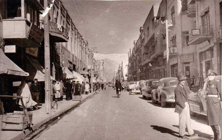عکس قدیمی عکس تاریخی بازار قدیم بازار تاریخی