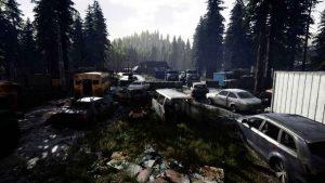بازی mist survival بازی ترسناک ژانر بقا جهان باز