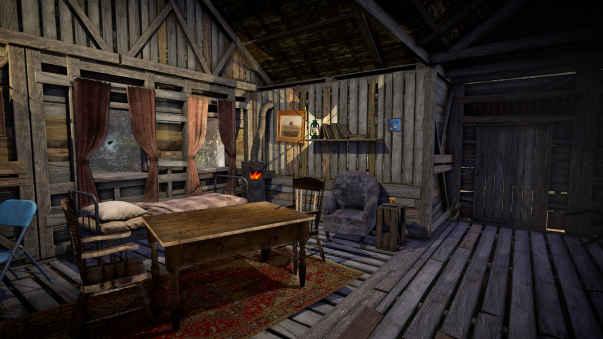 ساخت مخفیگاه در بازی جنگل The Forest