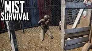 kate یکی از اسیر شده ها توسط راهزنان در بازی mist survival